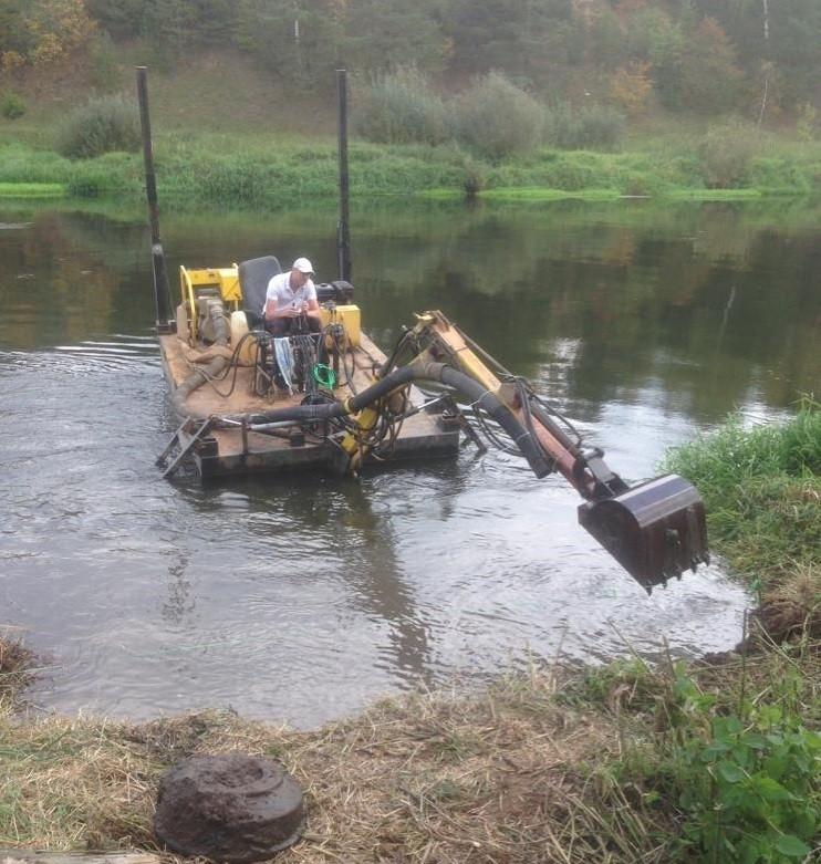 Заказать услугу-обслуживание прудов и водоемов