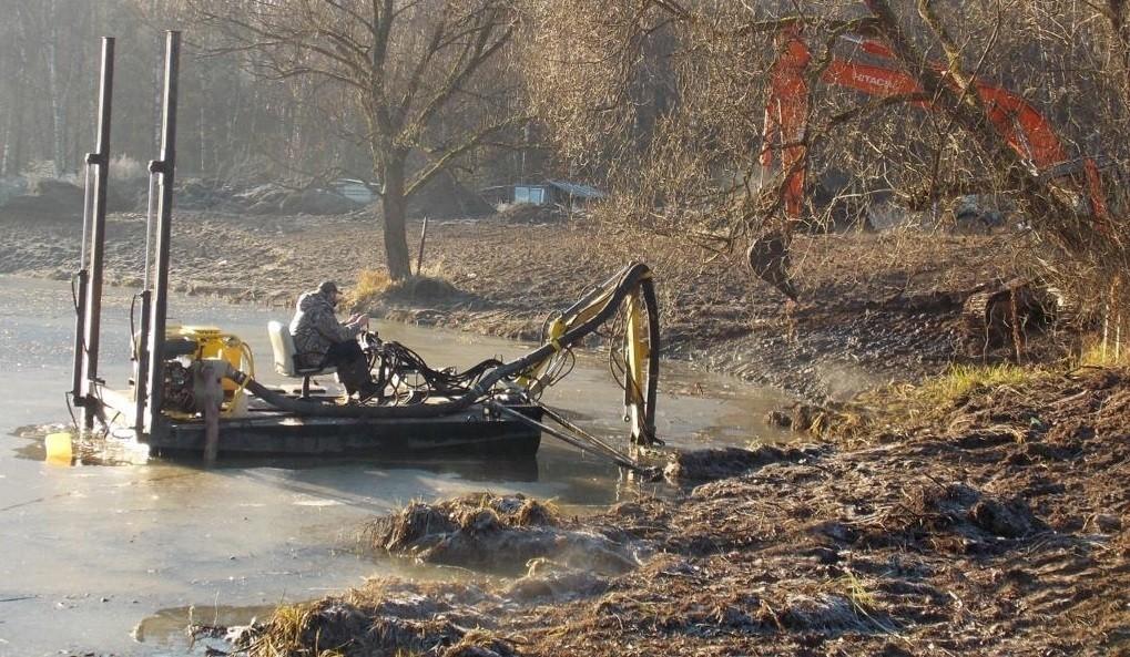 Что входит в услугу – обслуживание прудов и водоемов